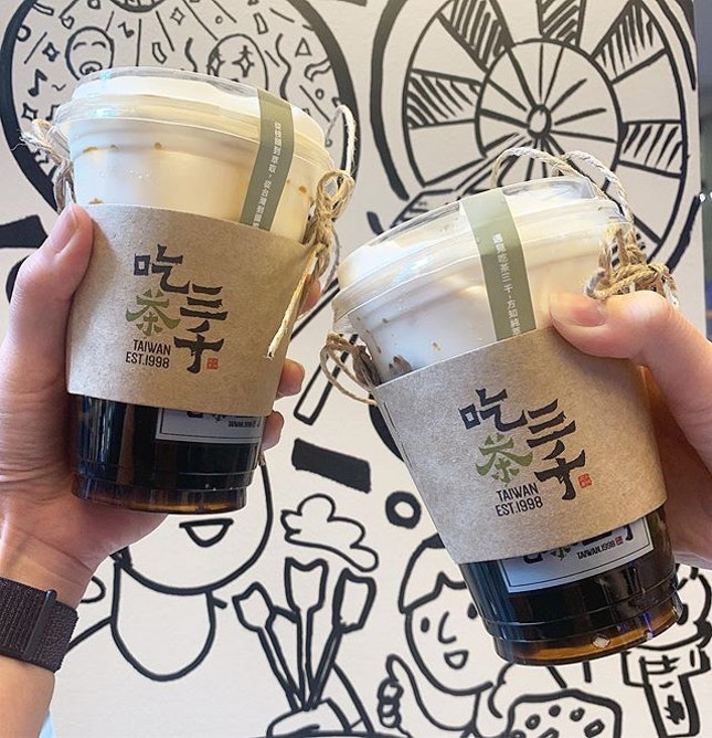 Dong Ding Oolong / Brown Sugar Milk Tea
