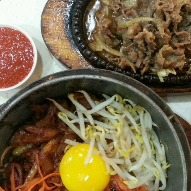 Bibimbap With Beef Bulgogi