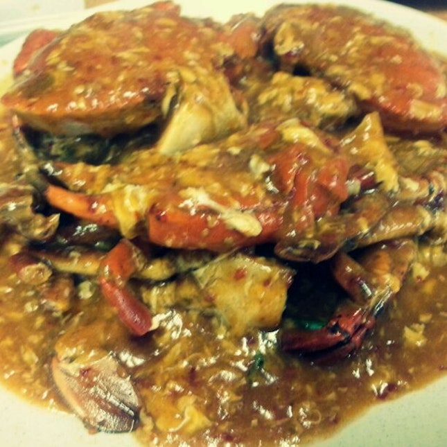 Spicy Chilli Crab