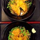 Yuzu Miso Chicken And Salmon Cold Soba