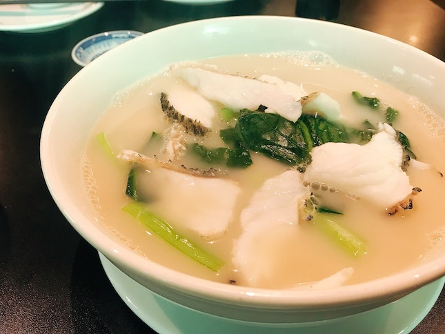 Sliced Fish Soup ($8)