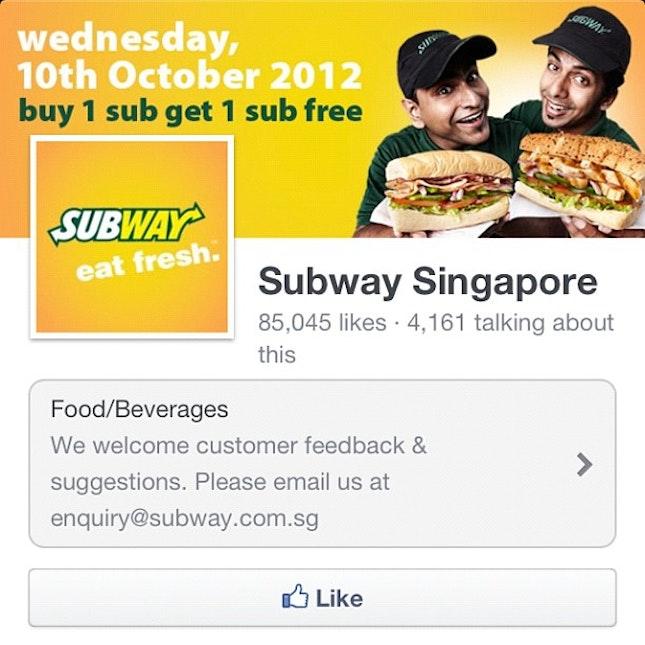 #subway #singapore