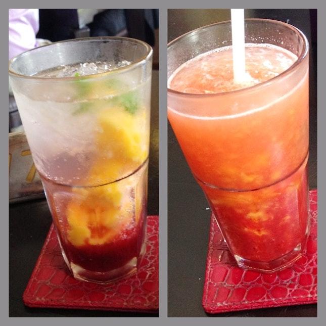 Strawberry & Mango Mojito