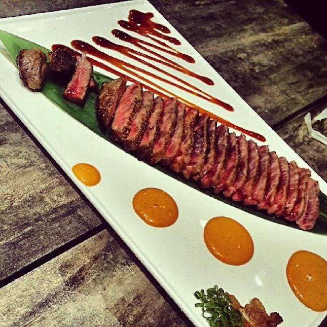 #sirloinsteak #foodporn #instafood #thesushibar