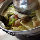 Pomfret fish steamboat ($22).