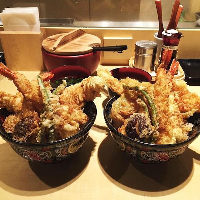 this tempura bowl was worth the 45 minutes wait.