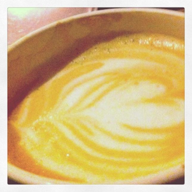 #miss u so much #latte #art #coffee ❤☕☕☕😂