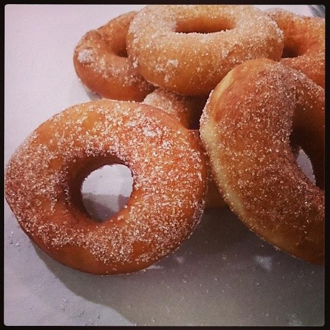 #homemade #donut #sugar #oldschool first time bake..