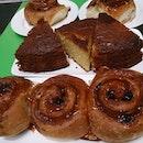 Another attempt of making #cinnamonbun #aka #stickybun #bun #lemoncake #cake #foodporn #foodstagram  Can be improve @.@''