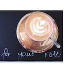 """""""It is the time you have wasted for your rose that makes your rose so important""""  #roselatte #coffee #ilovemondays"""