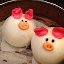 Red Bean Steamed Buns