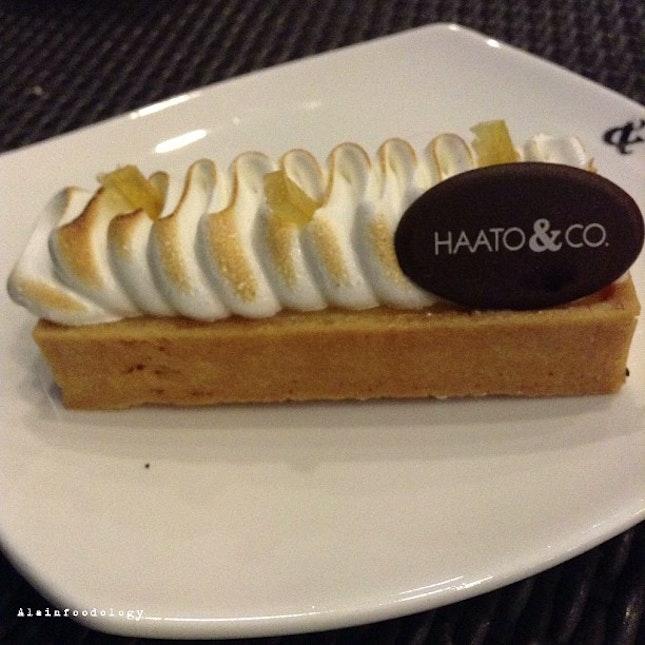 Lemon Meringue Tart from Haato & Co.