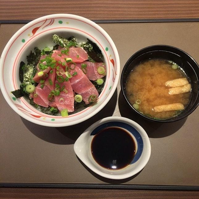 Tekka Don for lunch