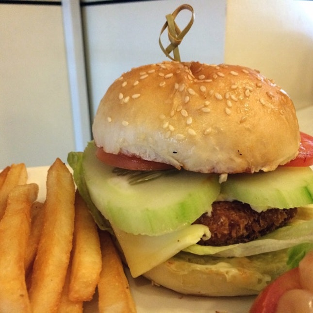 Sweet Potato Burger $8.50