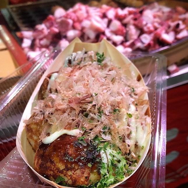 Japanese Takoyaki $7