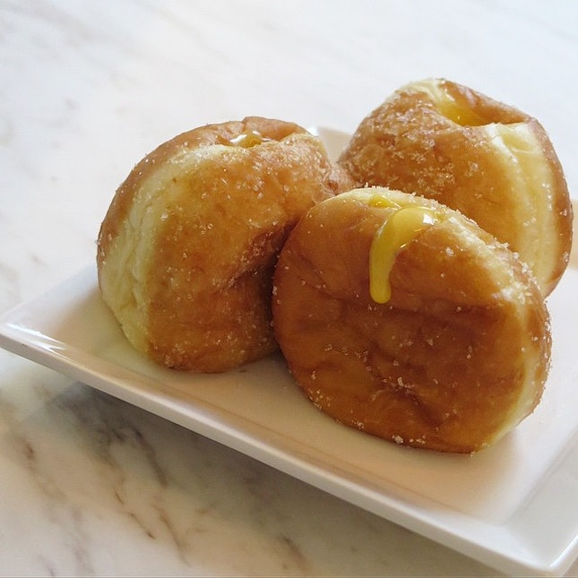 Salted Egg Custard Donuts (3 For $5)