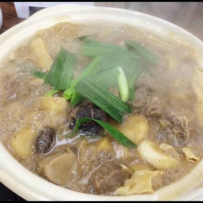 Yummy Lamb Stew Hotpot