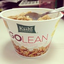 Go #lean #soy #protein #grahams with 12grams of #protein ☺ my #breakfast #choice this #morning!