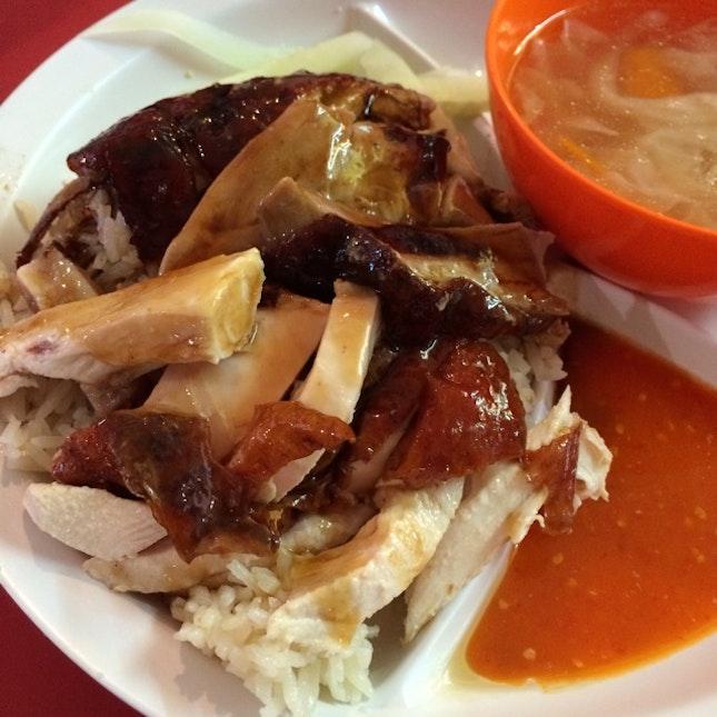 Chicken & Duck Rice