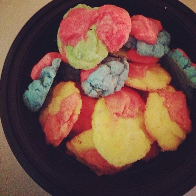 rainbow cookies!