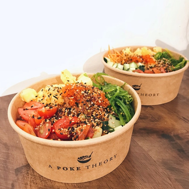 One Of My Favourite Poke Bowls Yet!!