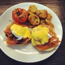 #salmon #benedict #breakfast #herethere #bangkok #food #foodies