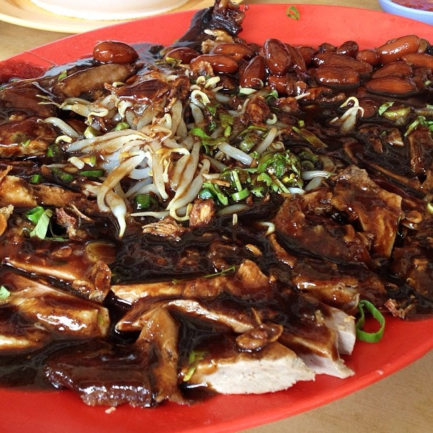 This is very messy duck, but the taste is deeelicious!