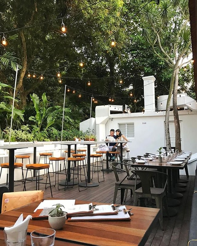 Have you ever wish that when you dine outdoors in Singapore, the air is cool as if there was air-conditioning?