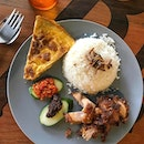 Nasi Lemak with Fried Chicken (The long story.....