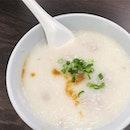 Porridge at Ah Chiang's.