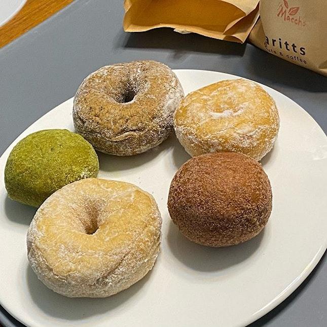 Doughnuts or donuts.
