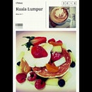 #lazy Monday #breakfast ~ #marscapone #pancakes #coffee #cappuccino ♥
