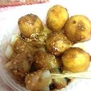 Fish Balls W/ Curry
