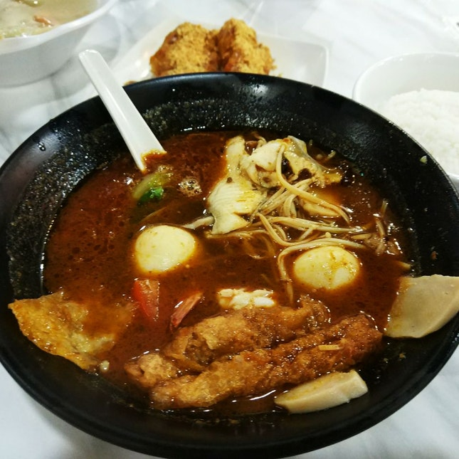 Spicy Seafood Soup ($9.50++)