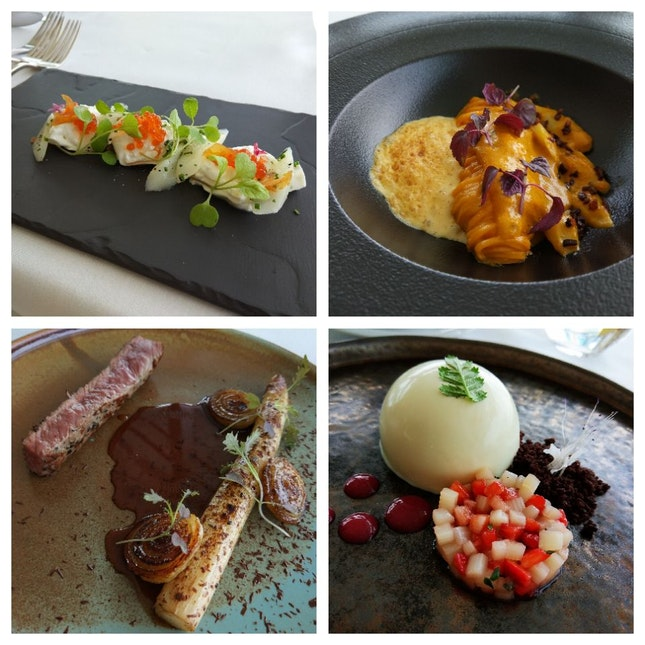 White Asparagus 4 Course Lunch ($50++ With #burpplebeyond)