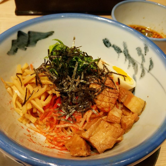 Spicy Tsukemen Ramen ($15.90++)