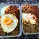 Value for Money Beef Rendang Nasi Lemak