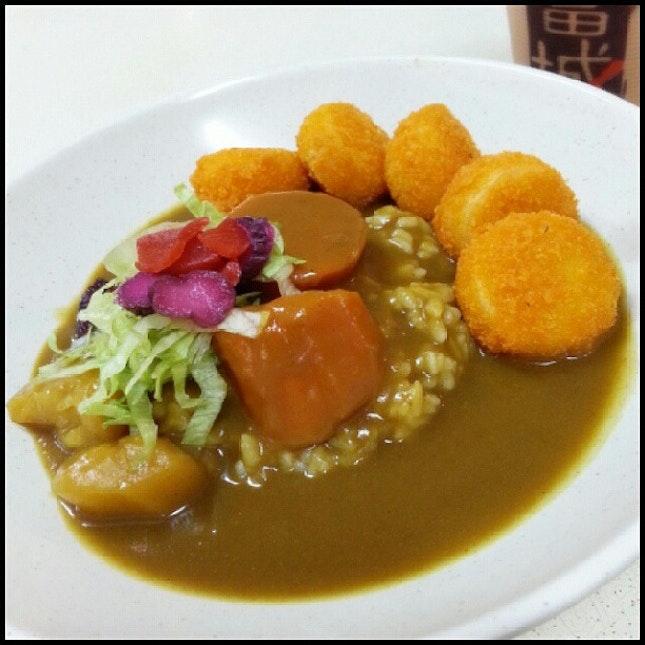 Today night having #Japanese #Breaded #Scallops #CurryDon for #dinner 20/08/13