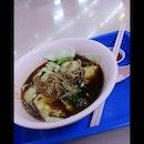 """#Supper #FuzhouFishball #meehoonkueh with #Egg """""""