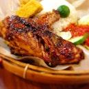 Ayam Bakar (Grilled Marinated Chicken)