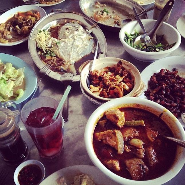#德盛饭店 #Penang the #roundtable #lunch