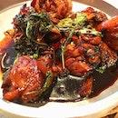 Delicious Taiwanese chicken at Kiki.