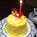 Durian cake; Auntie's bday