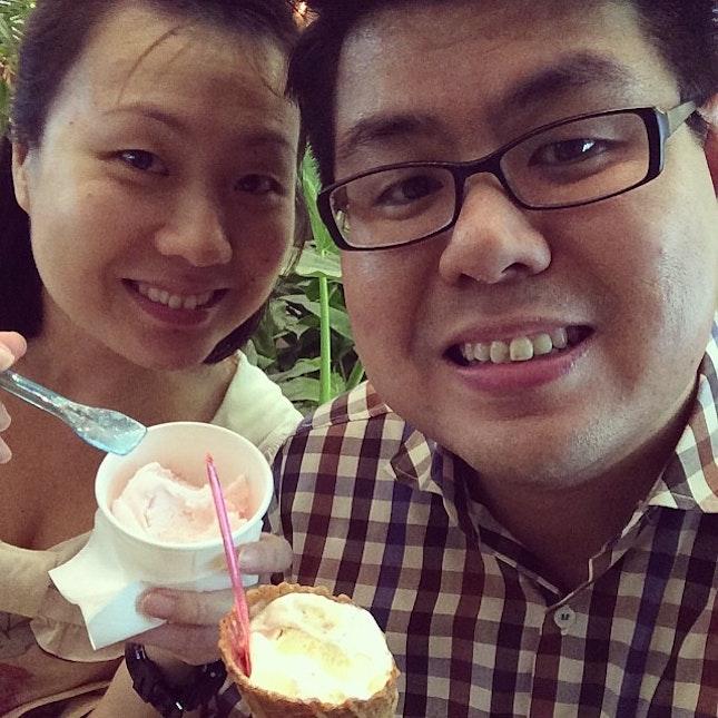 #icecream time!