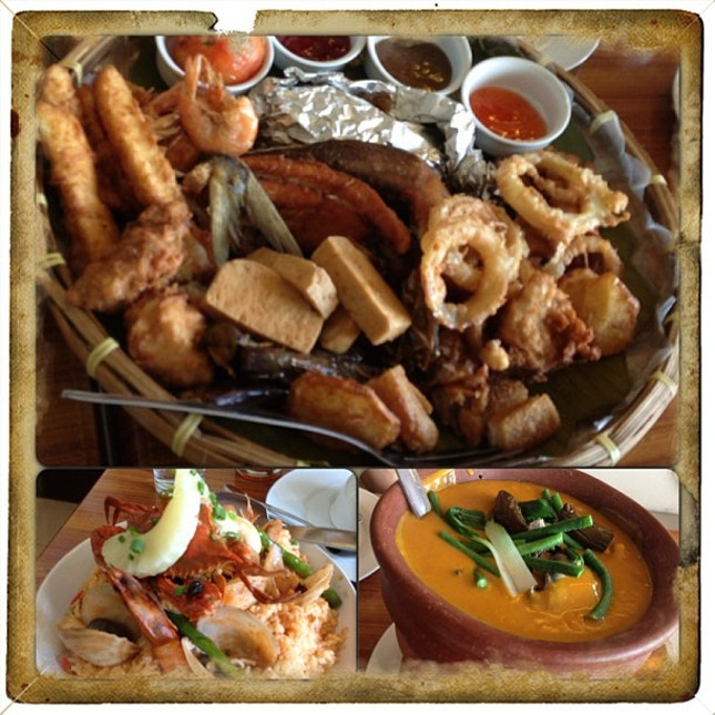 #Lunch #fambam #seafood #archipelago7107 #smlanang #davao #instafood #familyoffoodies