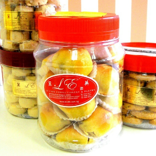 Pineapple Tarts from Le Cafe.