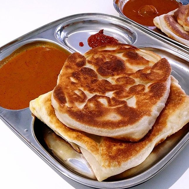 Prata for breakfast!!!