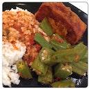 @instagram @igsg #instagram #igsg #instafood #sgfood #igfood #spicy #ladyfingers #tofu #beancurd
