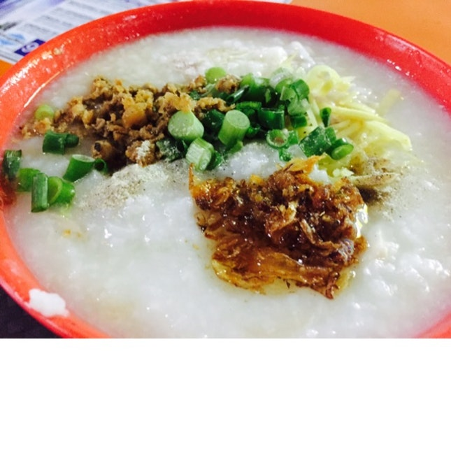 Fish Belly Porridge