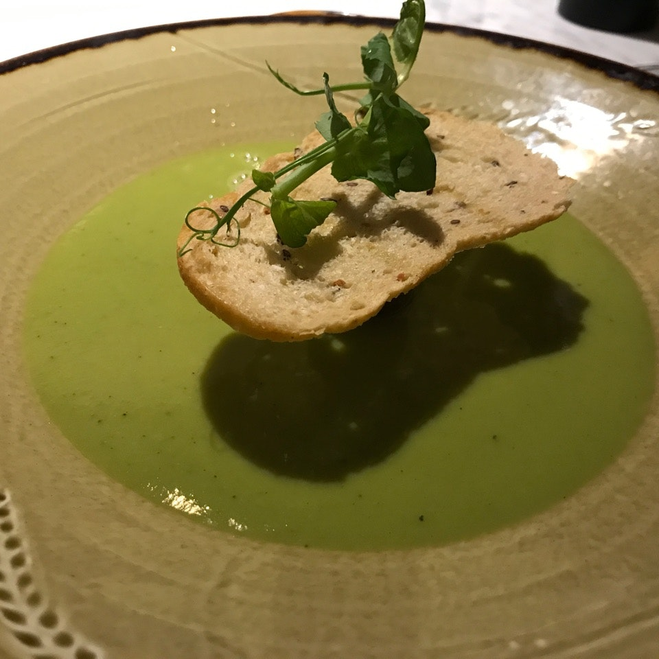 Green Pea Soup